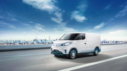 这款新能源车在欧洲未发先火,上汽MAXUS纯电智能物流专家EV30发运挪威