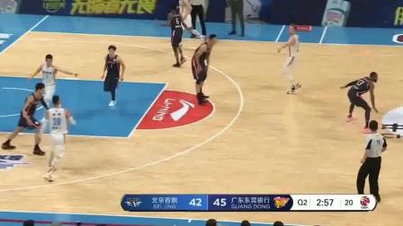 广东vs北京:广东最需要的就是布鲁克斯这种不讲道理的三分球