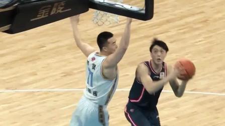 广东vs北京:胡明轩这个欧洲步我给他98分,就差2分没进!