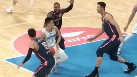 广东vs北京:王骁辉这样犯规法,怪不得别人说他球风不干净