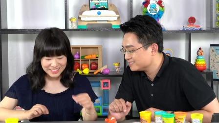 """隔壁老爸教你简单有趣的早教游戏:黏土""""大球小球""""游戏 中国玩博会品质育儿 20200609"""