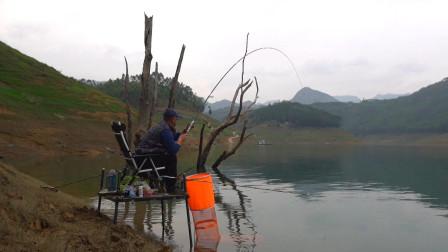 《游钓中国6》第12集 万峰湖岸钓大罗非  每一竿都有不同的惊喜