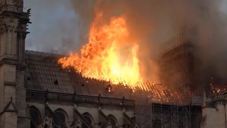 巴黎圣母院失火非偶然,当地不作为责任很大,历史遗迹就这样没了!