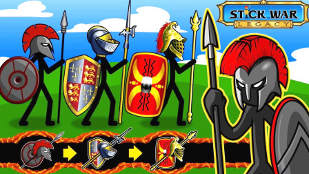 火柴人战争遗产:成千上万的剑士出征背水一战,霸屏感觉真好