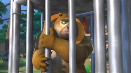 熊出没游戏:熊二想耍威风,反而坑了自己