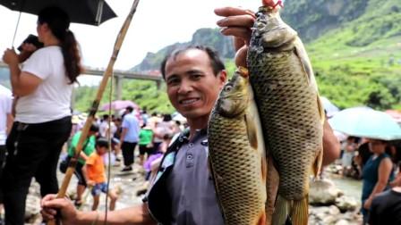 """贵州:苗族同胞欢度""""杀鱼节"""" 传承远古渔猎文化"""
