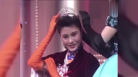 李嘉欣年轻时有多美?一举夺冠香港小姐,难怪香港富太都害怕