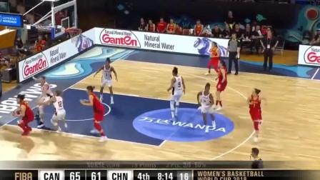 中国女篮一姐邵婷,最尴尬的一球,转身被帽,有点罕见