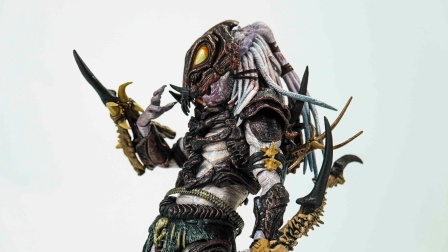 【玩家角度】我这辈子见过的最帅铁血战士!NECA阿尔法