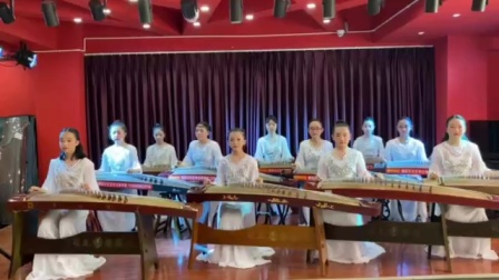 云南曲靖雅韵文化艺术学校 古筝曲打虎上山
