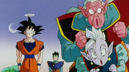 七龙珠:悟空战斗力很强,用气功波测试界王神,不知界王神强项不是战斗