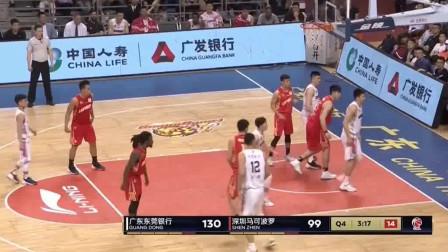 半决赛:胡明轩7投7中,高效砍下17分,解说:劲!