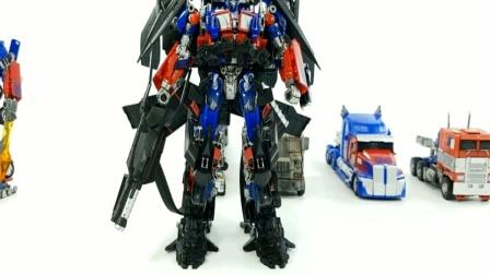 变形金刚玩具擎天柱变形展示机器人 创意玩具