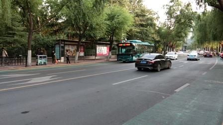 济南公交K95路出站
