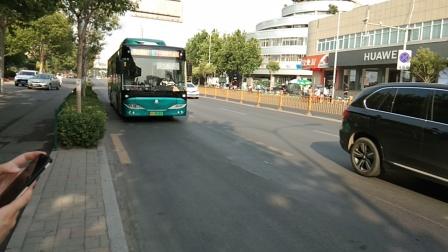济南公交K75进洪家楼站