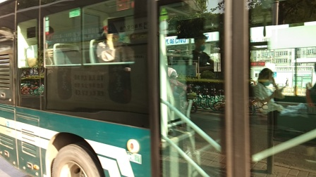 济南公交K30路出洪家楼站