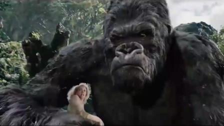 金刚猿为救人类女子大战史前恐龙