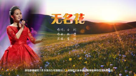 一首赞美教师的歌曲《无名花》mv  :雷佳演唱