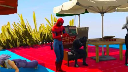 蜘蛛侠:蜘蛛侠和伙伴们各显其能