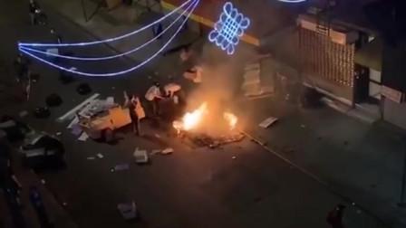 """美国""""黑人事件""""示威者攻入唐人街,再无半片净土!"""