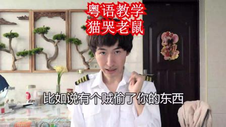 猫哭老鼠假慈悲,在广东粤语和广西白话怎么说?