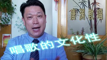 """""""唐渊教唱""""主要讲歌唱的文化性,其他内容听其他老师讲即可"""
