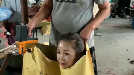 广东小姐姐把自己打包,想给老公一个惊喜,真是太能玩了!