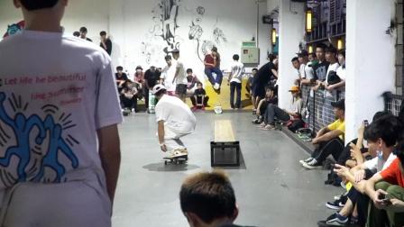 潘家杰 广东省滑板队 6位队员助阵 冲突滑板店《生如夏花》首映
