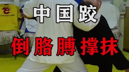 74岁老跤师教你中国跤倒胳膊撑抹