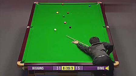 丁俊晖凭什么打到世界第一,看完这一场比赛就明白了,实至名归!