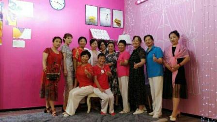 惠州江北念佛拍手操队:《姐妹欢聚话早茶》,2020年6月15日惠州正哥点心茶庄掠影。