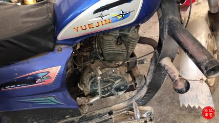 摩托车加油门发出突突的声音,这种情况怎么维修?专业师傅告诉你