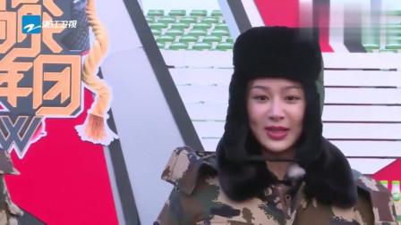 高能少年团:军营训练趣味多,杨紫滑稽演唱《小邋遢》逗笑全场