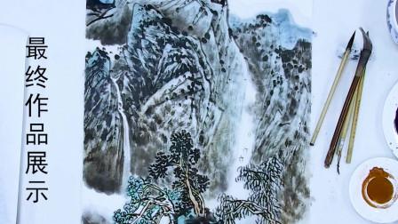 山水画教程:留云法、点厾法、勾线法画云烟 满满的干货知识