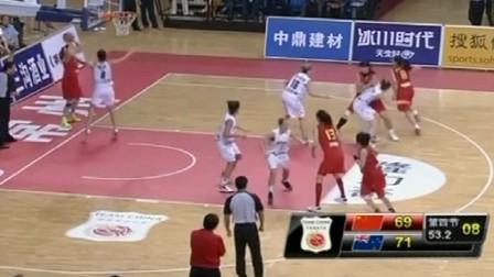 中国女篮奥运,顶住压力打进绝杀球,姑娘们太棒了
