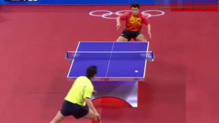 日本这直板猛将有点料,奥运会上和王皓打得难解难分