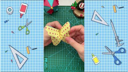 【甜果亲子】手工DIY:手工蝴蝶,你的蝴蝶是这样做的吗?