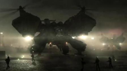未来战争,坦克飞机结合为一体,机器人参与战斗,太震撼