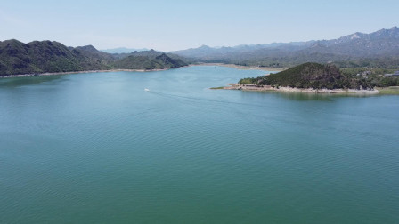 河北易县易水湖,不但有动人的历史故事,更有如诗如画的美景