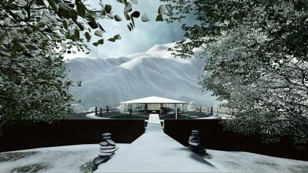 「小隐建筑」西藏怒江·顽石行者·温泉酒店
