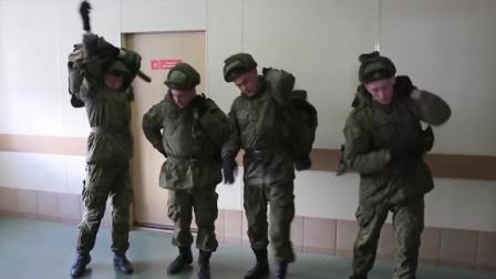 警报响的那么捉急,士兵一点也不急!实拍俄罗斯空降部队战斗警报