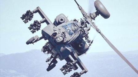 """被誉为""""坦克终结者""""的AH-64武装直升机,究竟有多强悍"""
