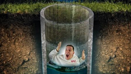 假设自己发生意外,不幸掉入了5米的深井中,该如何逃生呢?