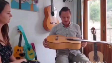 小蒋吉他 用户Artemio 在向朋友介绍小蒋吉他