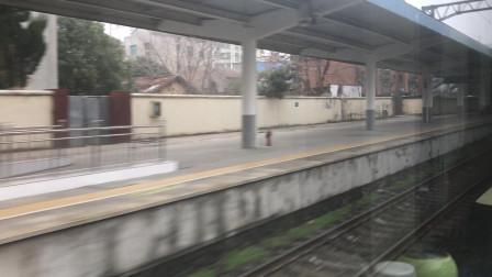 【车厢视角】Z123次(广州-成都)通过安陆站