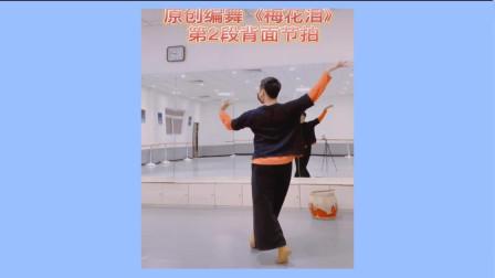 陈舞承古典舞原创《梅花泪》背面分解动作