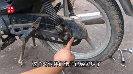 摩托车的链条拉长了就必须要更换吗?师傅教你如何让链条多用几年