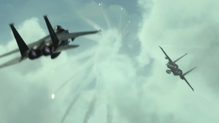 空天猎:国外战机到我国领空挑衅,结果遇到歼10,瞬间被秒成渣