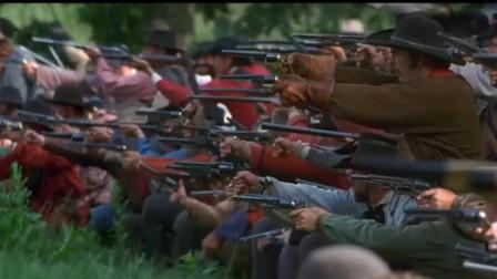 美国南北战争,当北方正规军遇到南方的民兵部队
