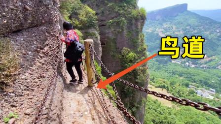 四川剑门关鸟道到底有多险?最窄处仅15厘米,敢来爬的都是女汉子